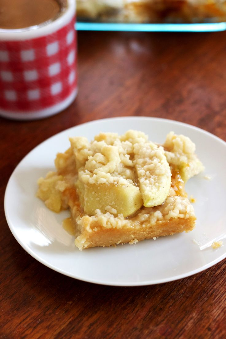 Apple Crumble Bars - My All-Time Favorite Non-Chocolate Dessert — The Free Spirited
