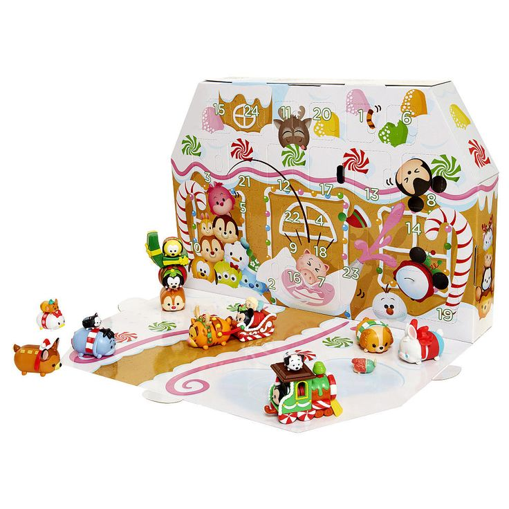 Enjoy counting down the 24 days until Christmas with the Disney Tsum Tsum Advent…