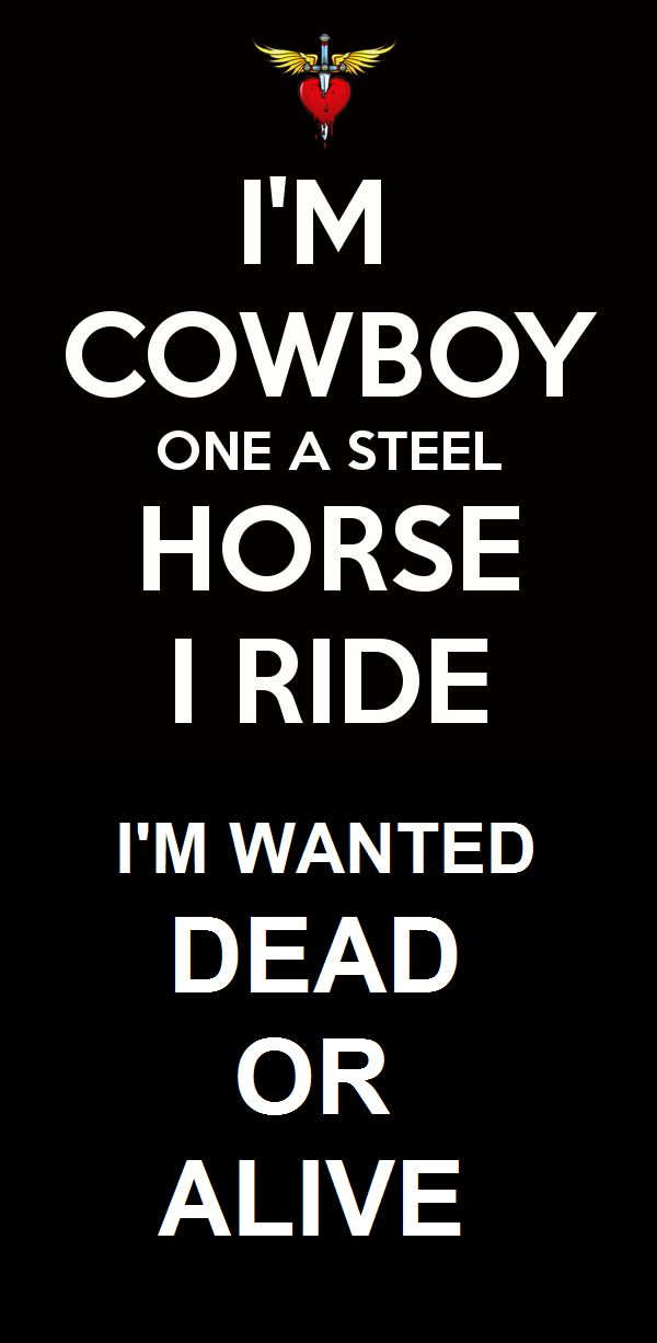 Bon Jovi....love hearing my uncle sing this song