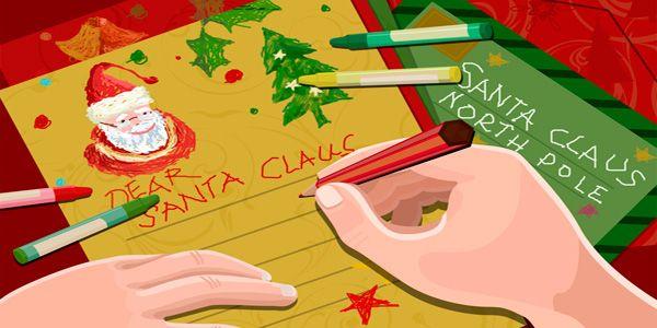 Modelli di Lettera a Babbo Natale da Stampare Gratis
