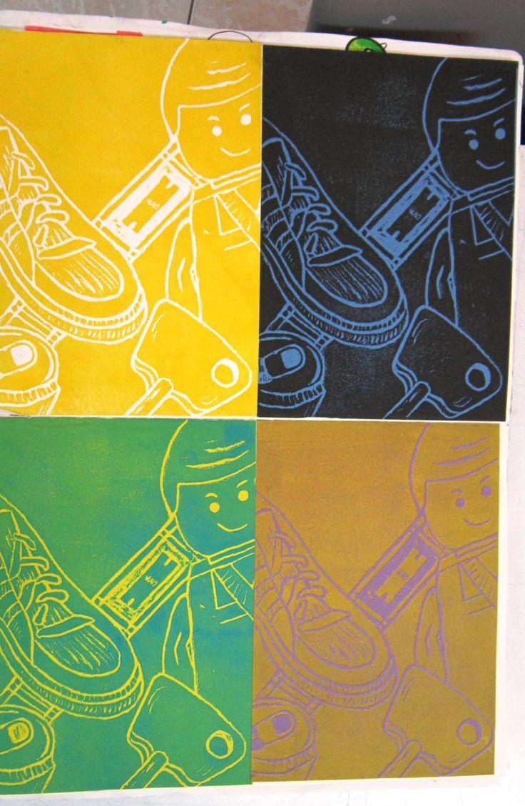 Michael Craig Martin Poly-print