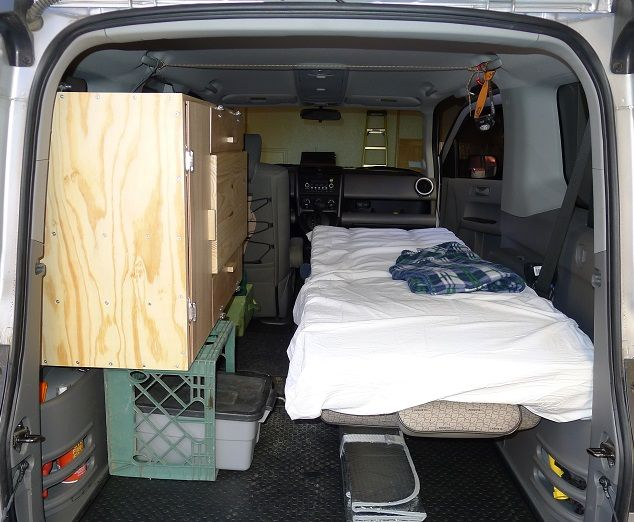 DIY Camper Kitchen/Office - Honda Element Owners Club ...