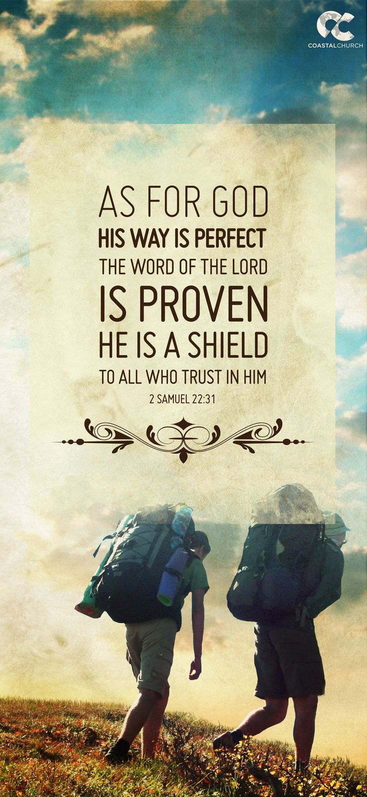 #Scripture                                  2 Samuel 22:31