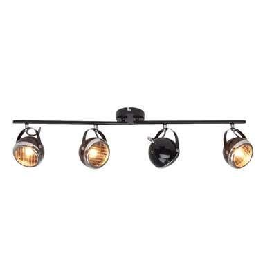 Brilliant plafondlamp Rider - zwart