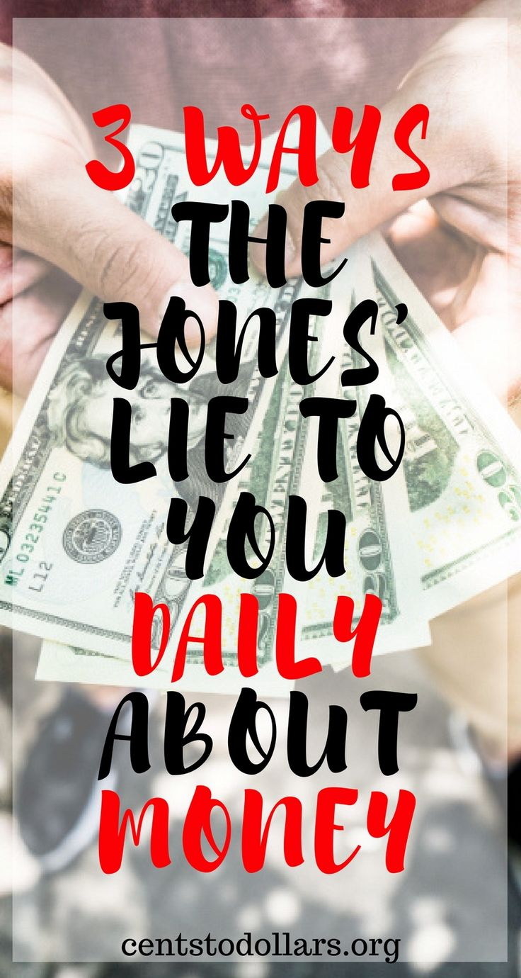 Following everyone else will get you what everyone else has. This includes the bad | The 3 biggest lies the joneses tell you daily about money | Debt payoff, get out of debt, debt free | Dave Ramsey