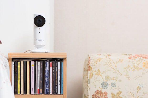 Die SpotCam HD Indoor Überwachungskamera (720 Pixel) ist eine WLAN-Cloud-IP Lösung zur Überwachung von Innenräumen inkl. Nachtsichtfunktion.  #smarthome #tech #smarttech #kamera #gadgets #automation