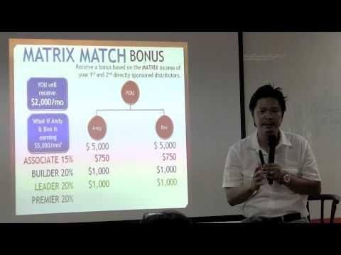 Laminine business presentation, by Mr. Olan Ignacio