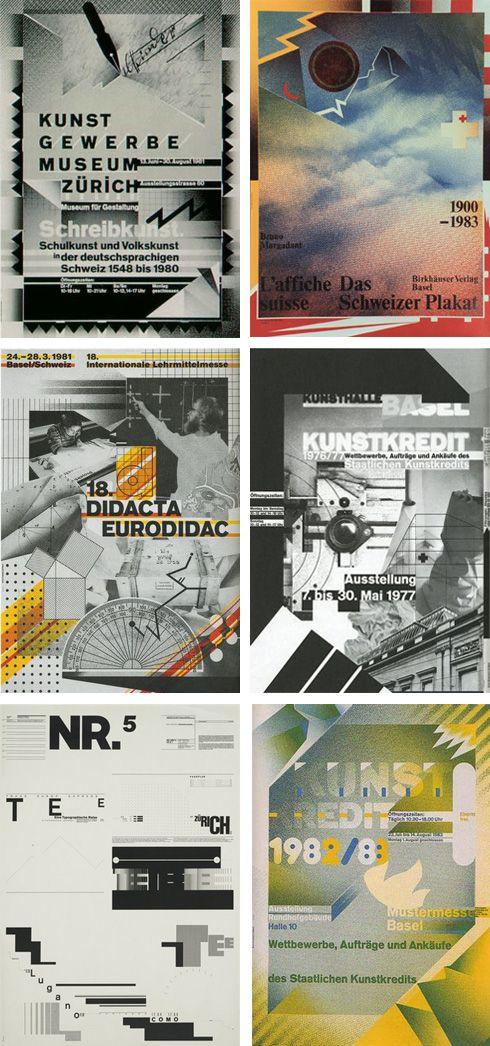 """wolfgang-weingart-posters Wolfgang Weingart, el enemigo en casa.  Nacido en Alemania (1941) cerca de la frontera con Suiza Su trabajo se clasifica como tipografía suiza y normalmente se le reconoce como el """"padre"""" de la New Wave o tipografía Suiza Punk, ya que fue uno de los primeros críticos con el estilo internacional suizo. El enemigo en casa, que podríamos decir. - See more at: http://www.blogartesvisuales.net/diseno-grafico/wolfgang-weingart-el-enemigo-en-casa/#sthash.XPjieCCj.dpuf"""