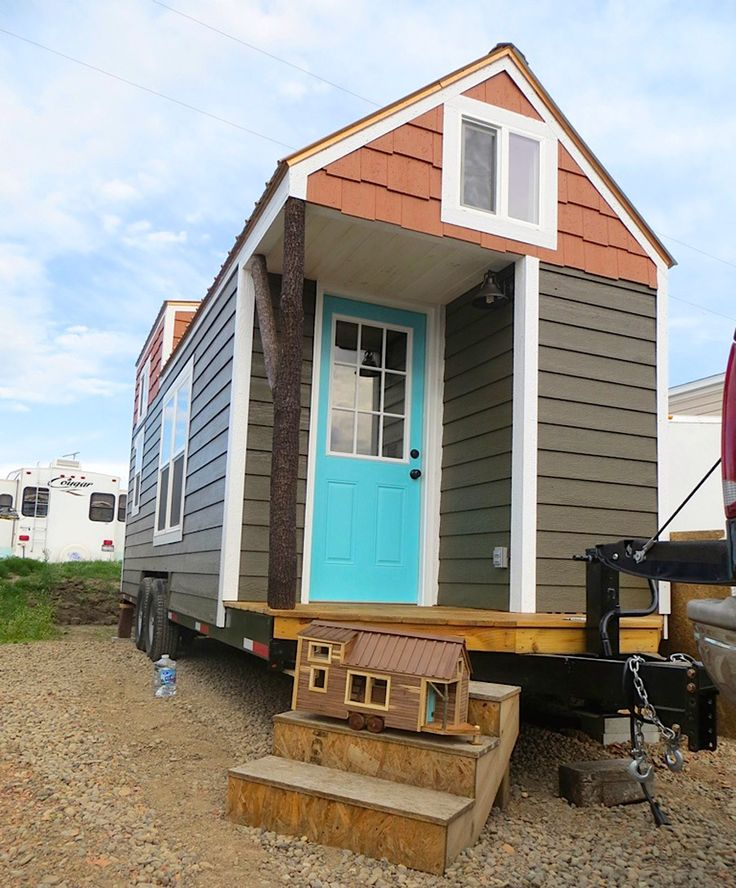 Tiny Home Designs: A Tiny House On Wheels In North Carolina, Built By Brevard
