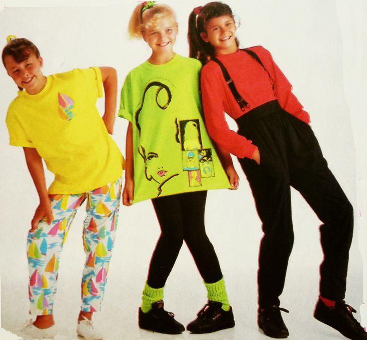 Felle kleurtjes in de jaren 80