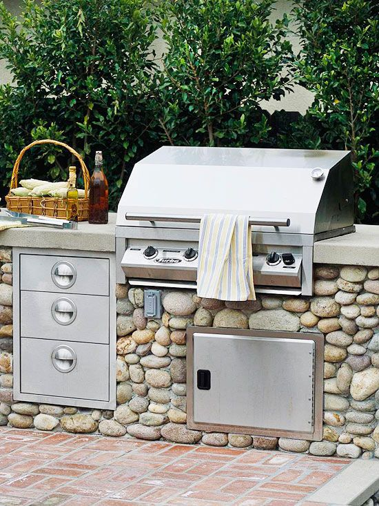 Include Outlets If Your Outdoor Kitchen Will Be Freestanding, Electricity  Is Essential To Power Items Such As Lights And Appliances. Part 84