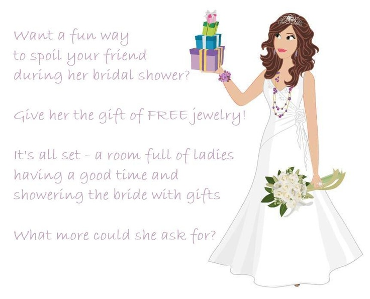 Free bling for the bride!!!