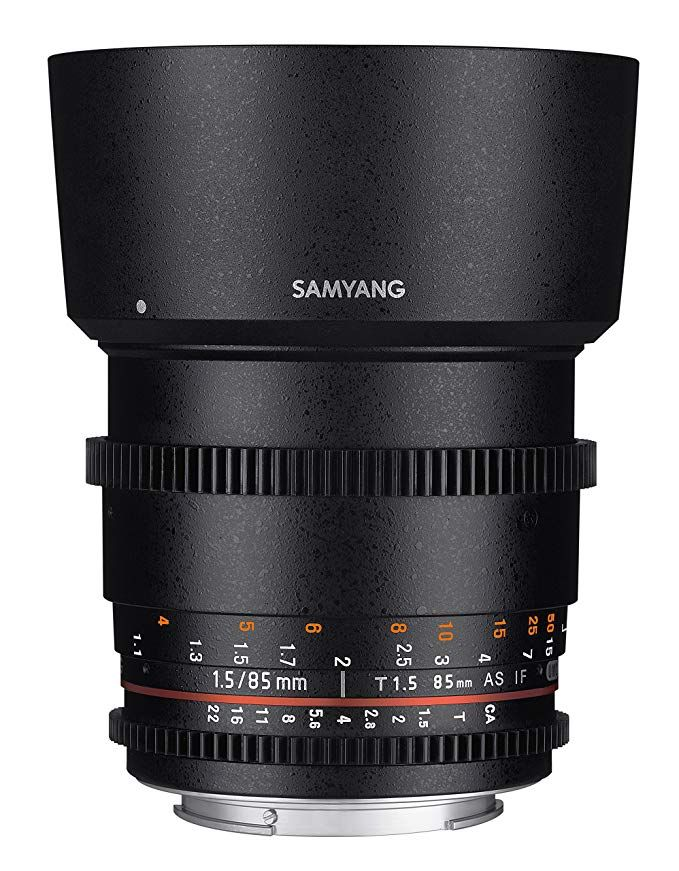 Samyang Syds85m Nex Vdslr Ii 85mm T1 5 Cine Lens For Sony Alpha E Mount Cameras Fe Review Canon Dslr Camera Canon Lens Fixed Lens