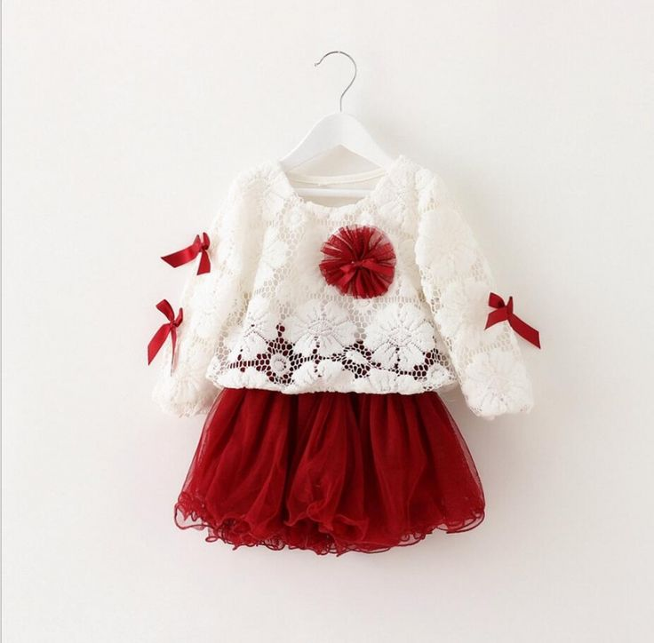 Exquisite Floral Cotton Baby Girl's Dress – Kid's Clothing  Price: 16.16 & FAST Shipping