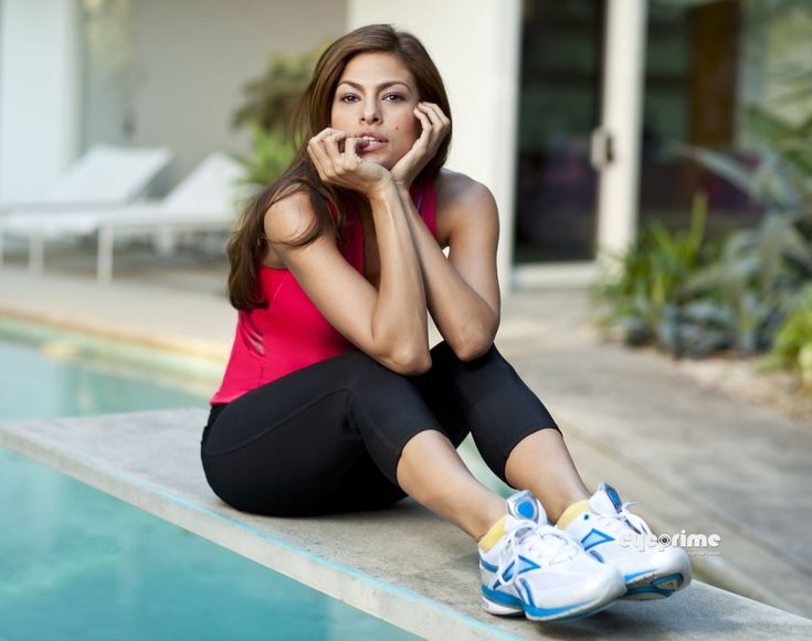 Check out what I have found Eva Mendes does to keep fit and fabulous! #workout #diet
