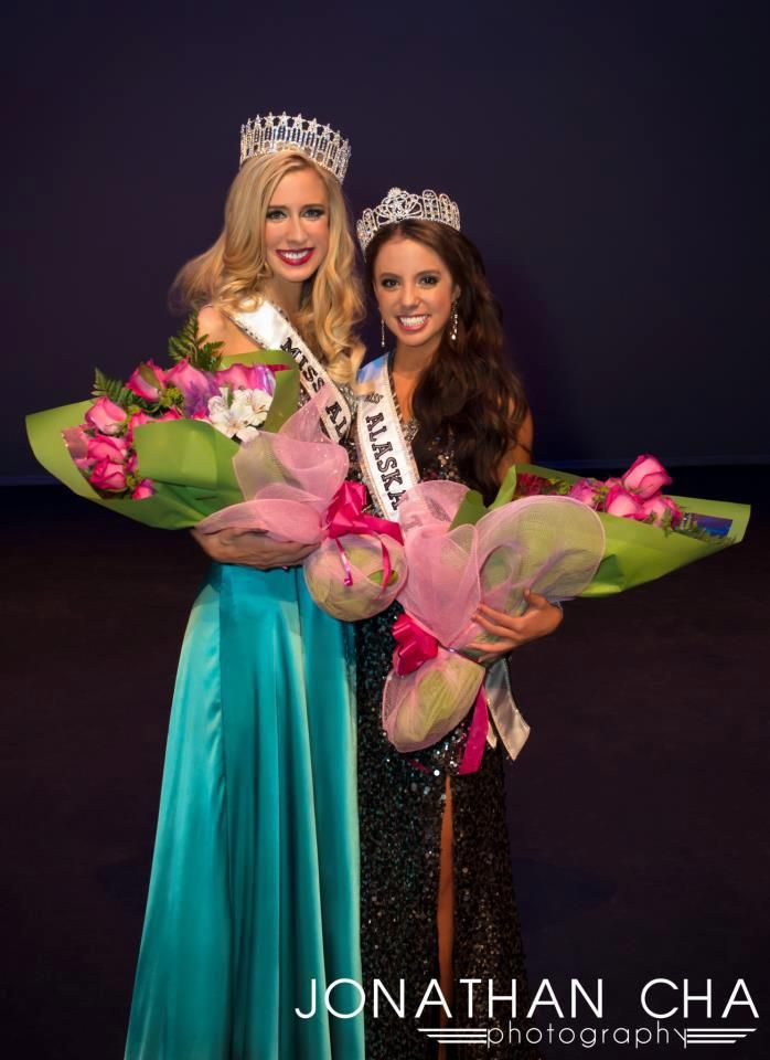 Lissa McKinney Crowned Miss Alaska USA 2013 Congrats girls!