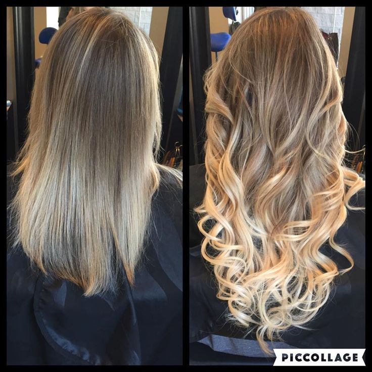 U201cBefore And After Extensions! #donnahair #donnabellahair  #donnabellahairextensions #trinitysalonnj #hair