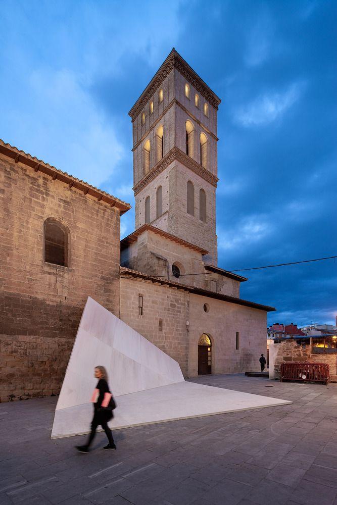 Galería De 16 Pabellones Efímeros Que Reflexionan Sobre El Espacio Público 24 Temporary Architecture Public Space Logrono