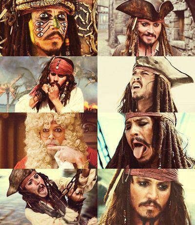 Unique Captian Jack Sparrow