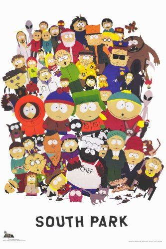 South Park Poster TV 11x17 Trey Parker Matt Stone Mary Kay Bergman Isaac Hayes @ niftywarehouse.com