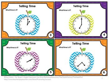 FREE!!! Telling Time in One, Five & Fifteen Minute Intervals - You will receive 6 task cards for your students to practice telling time. A student response form and answer key are also provided. These math task cards are a great way to reinforce skills while allowing students movement in the classroom. Movement is important for students of all ages! You will receive scavenger hunt game directions along with 20 uses for these cards! Enjoy!