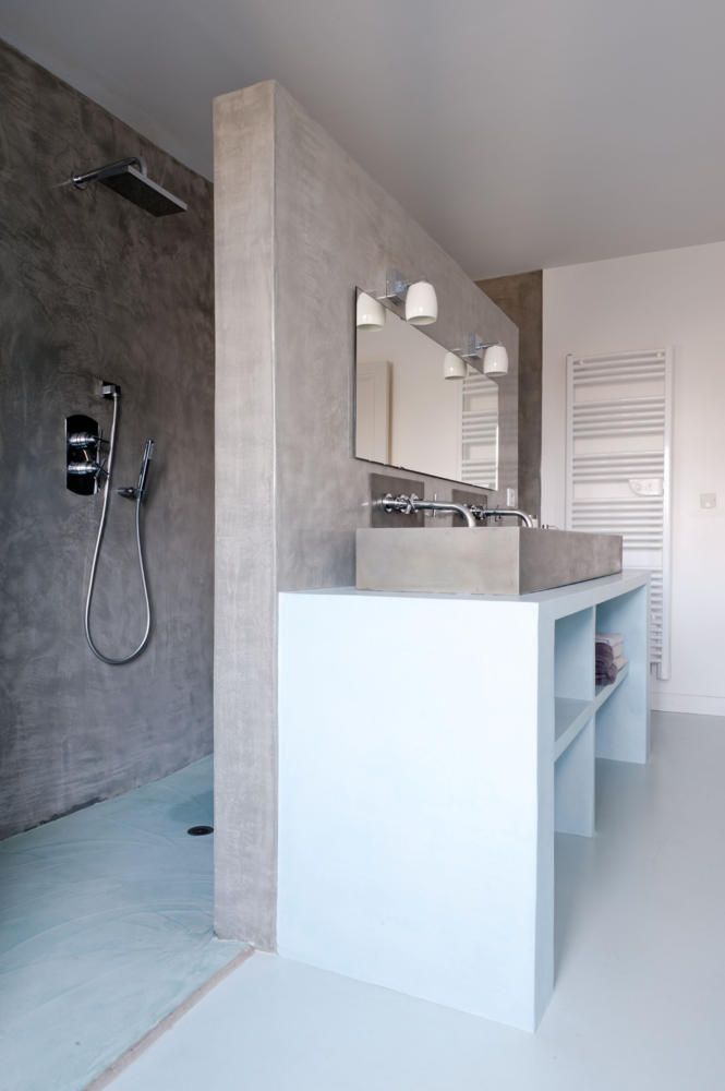 Perfekt Duschbereich Hinter Der Wand