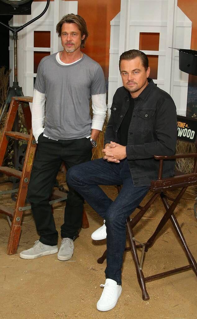 Brad Pitt und Leonardo DiCaprio aus Die heißesten Fotos!