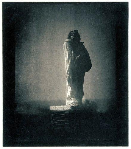 Rodin's Balzac, 1908, Edward Steichen