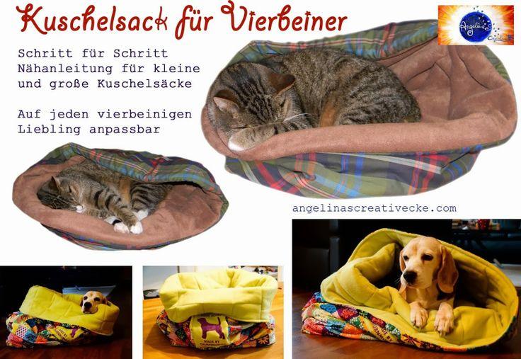 Kuschelsack für Vierbeiner