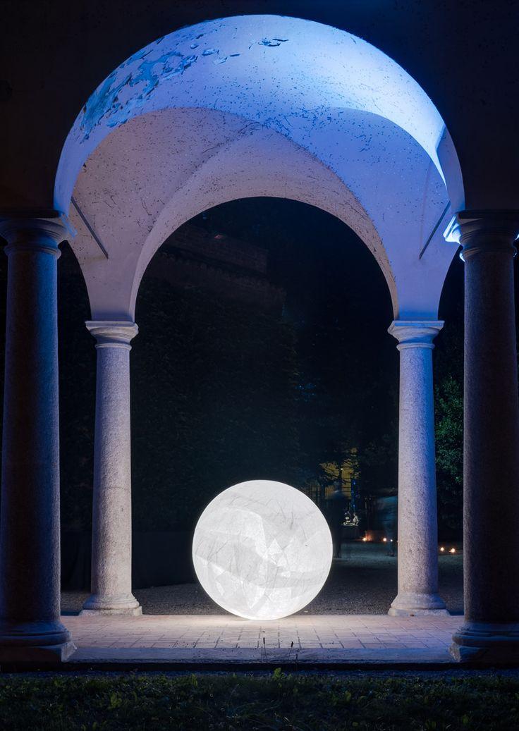Progetto luce Davide Groppi - Daniele Sprega Confindustria Piacenza Galleria d'arte moderna Ricci Oddi 2015