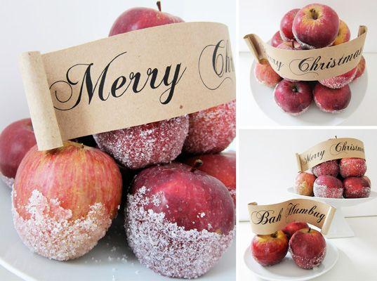 DIY Christmas Decorations | Handmade Holidays: Do It Yourself Christmas Ideas | Comfortably ...