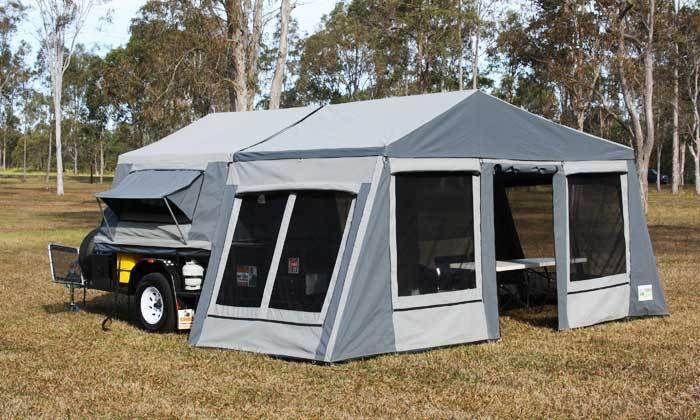 CamperTrailer- Sandpiper Model Manufact. by Swag Camper Trailers Carindale Brisbane South East image 1