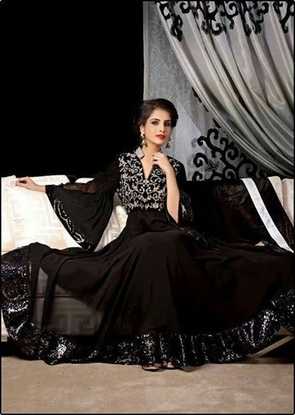 Get it at Amani www.facebook.com/2amani pakistani dresses.  Fab By Amirah Party Dresses 2014 For Women