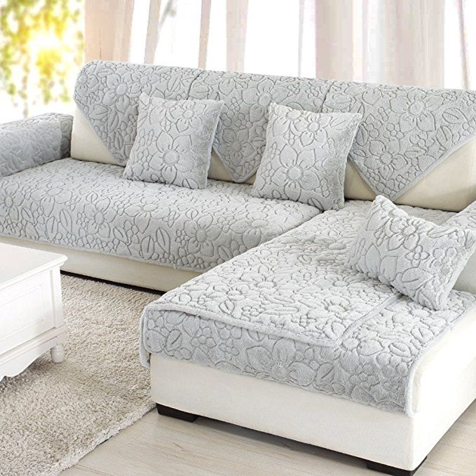 Sofa Furniture Protector For Pet Dog Sofa Slipcover Solid Color