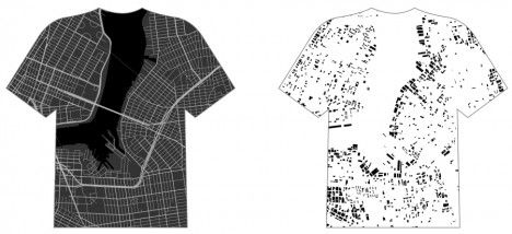 Street Style: Apparel Custom-Printed with Scalable City Maps