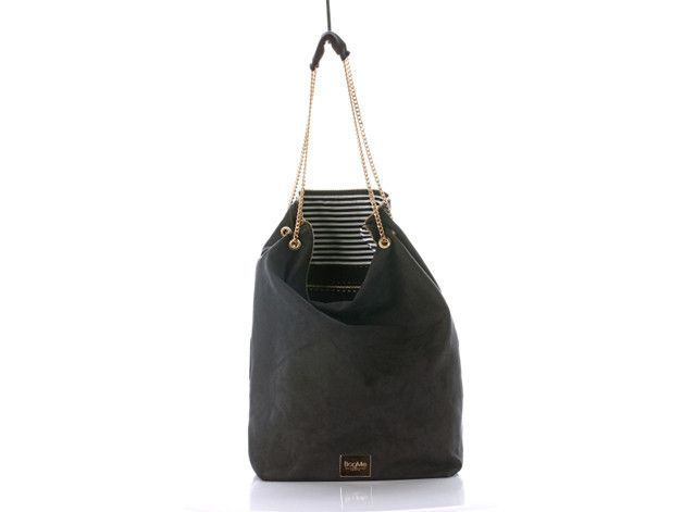 Bag+of+Secrets+Black+Suede+Gold+w+BagMe+by+smola+na+DaWanda.com