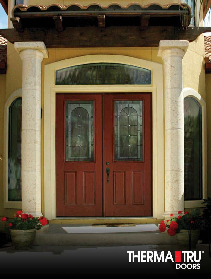 1000 images about fiber classic mahogany collection on for Therma tru