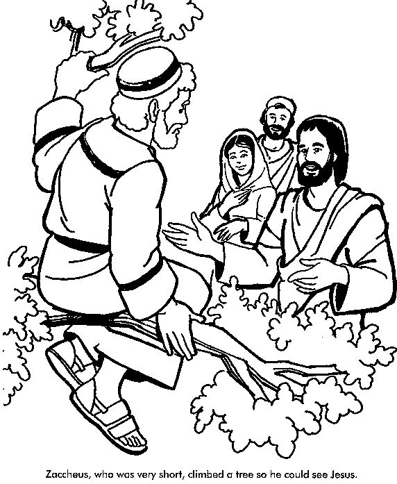 luke 19 10 coloring pages - photo#47