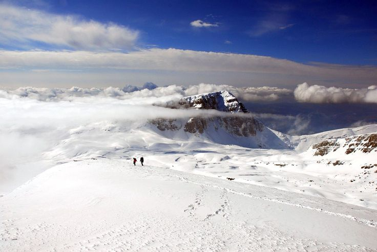 Greece is a 4 season destination!!! Astraka peak on Tymfi mountain