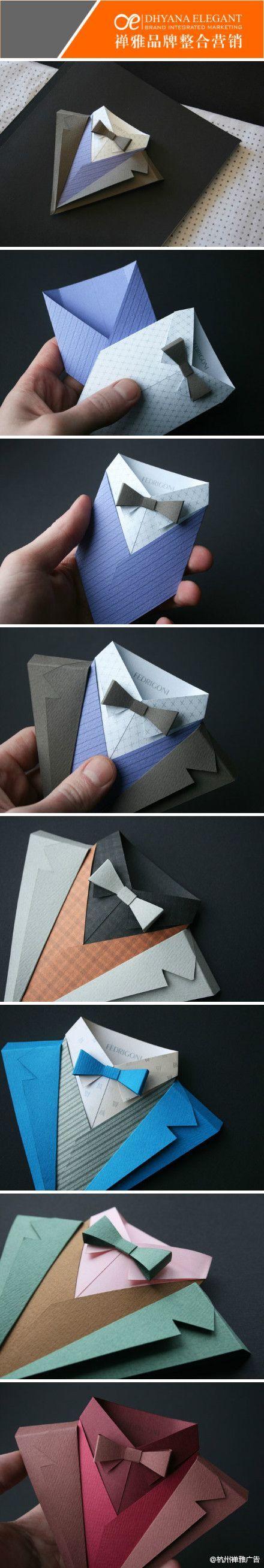 origami gravata