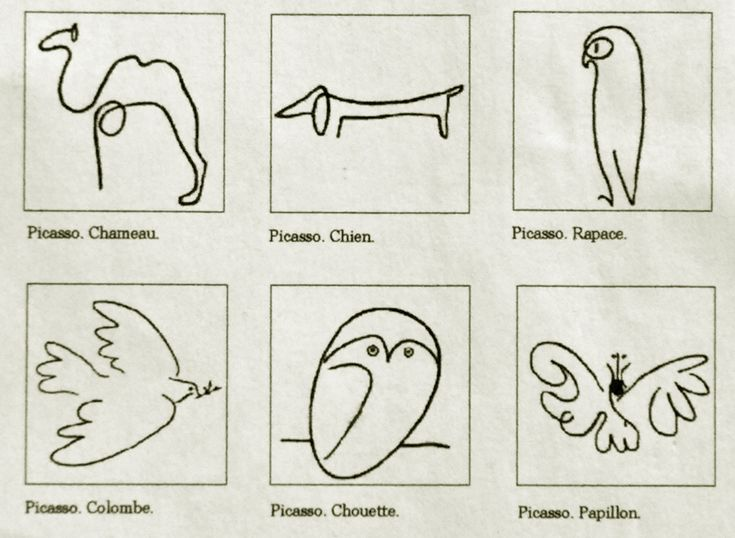 picasso drawings | some collection of animals by picasso picasso s father ruiz was a ...