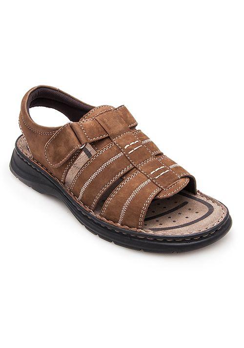 Leather sandal - Sandalia de hombre en piel - Zerimar