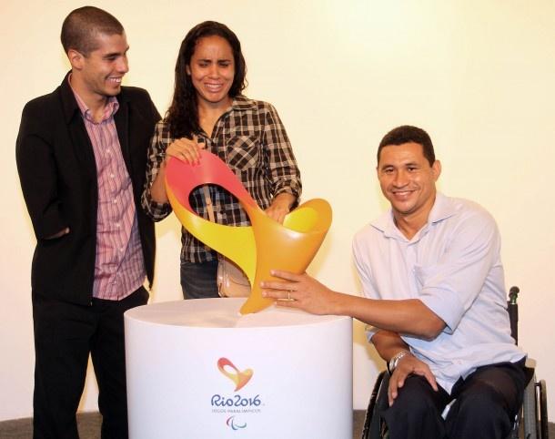 Logo Multisensorial Rio 2016 Jogos Paralímpicos