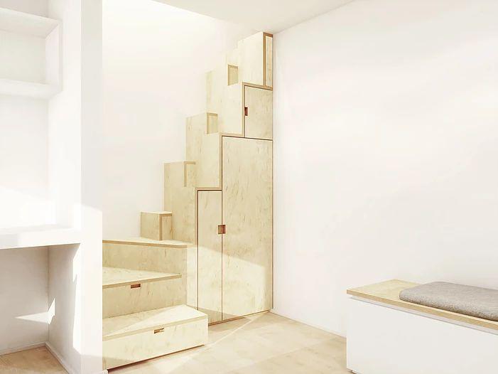 17 best id es propos de escalier pas japonais sur pinterest escalier japonais pas japonais for Amenagement grenier idees