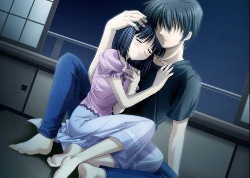 Anime Romantic Love in Bed | 22 Imagenes de anime tristes para Facebook sad pics manga