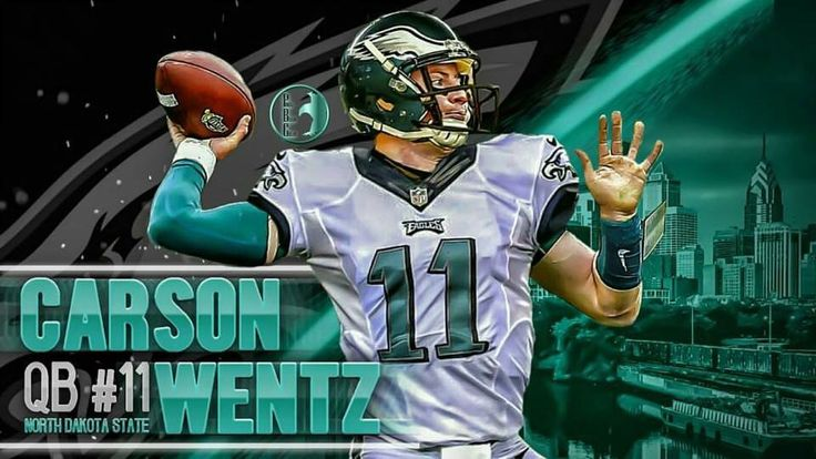 Carson Wentz Philadelphia Eagles #1 pick 2016 NFL Draft