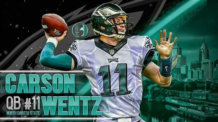 Carson Wentz Philadelphia Eagles #1 pick 2016 NFL Draft