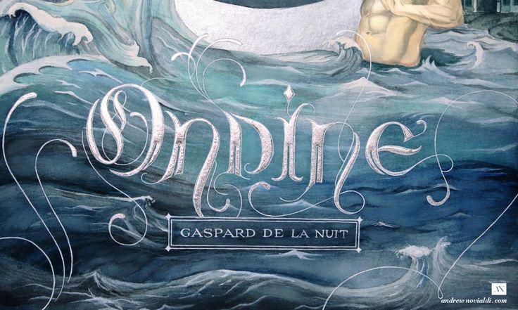 Gaspard de la Nuit Watercolor Illustration - Ondine