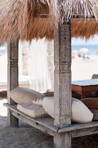 Take Me there! Bungalow / Lounge / Beach / Ocean - Path of Awakening - Mind.Body.Soul #travel
