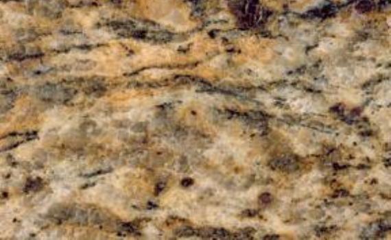 Yellow Santa Cecilia Gold is a granite from Brazil it has
